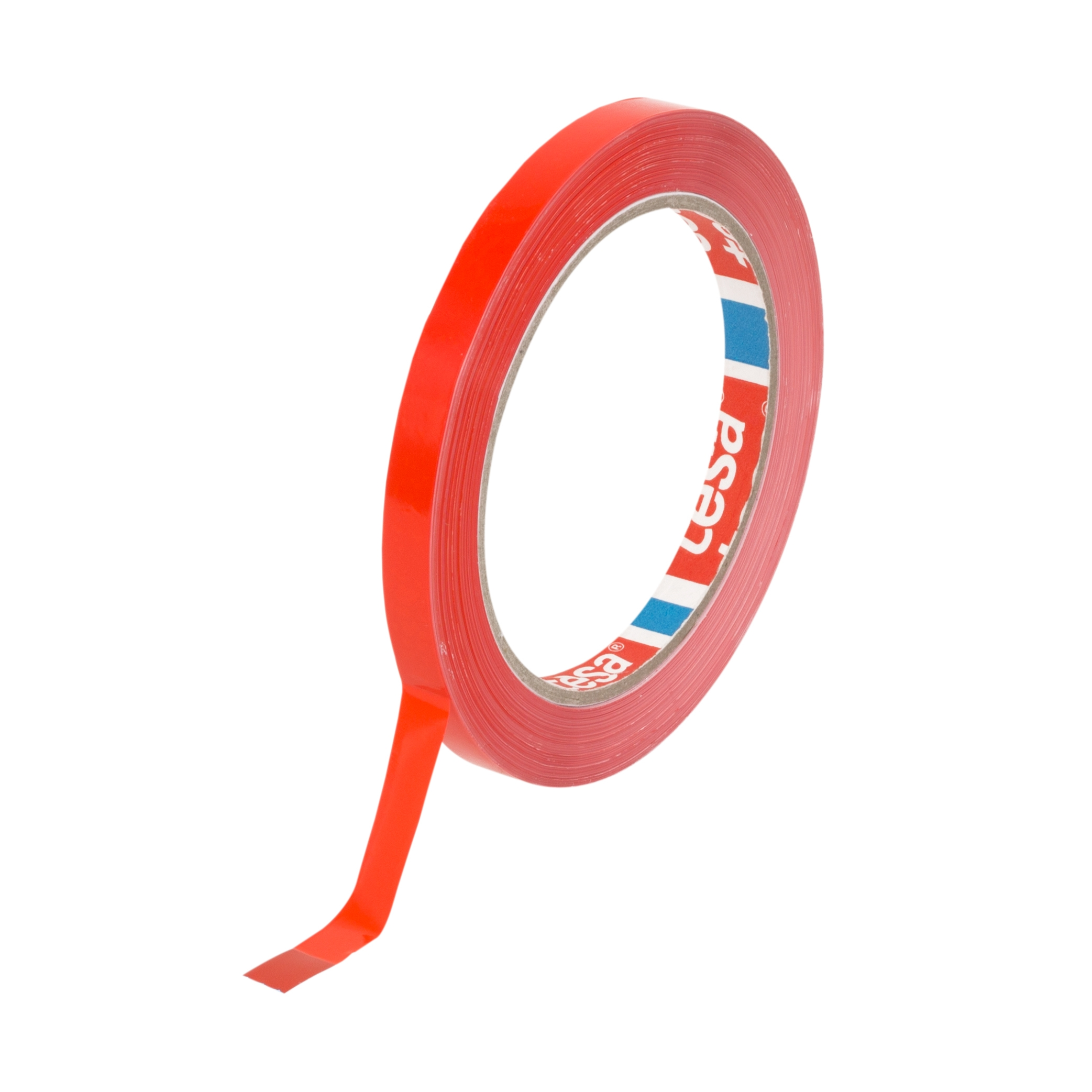 Tesa® tape pvc 4204 rood 9 mm x 66 m