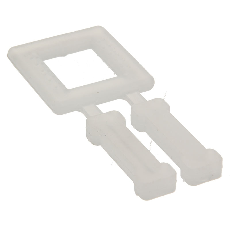 PVC gespen voor strappingband transparant 12mm