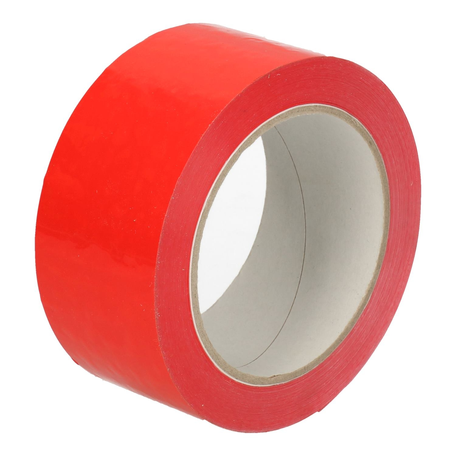 Tape PVC rood 48 mm x 66 mtr