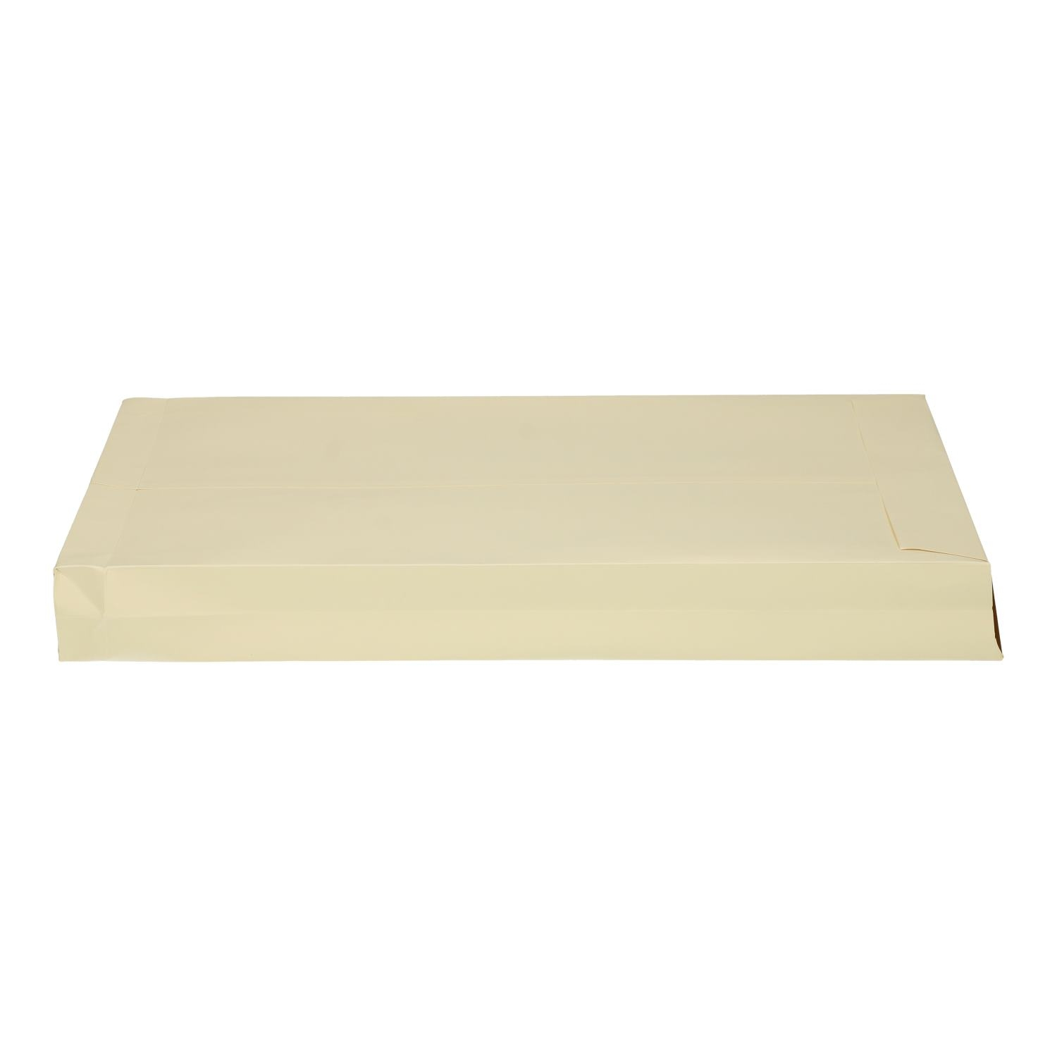 Monsterzak 230x350x38mm creme met plakstrip