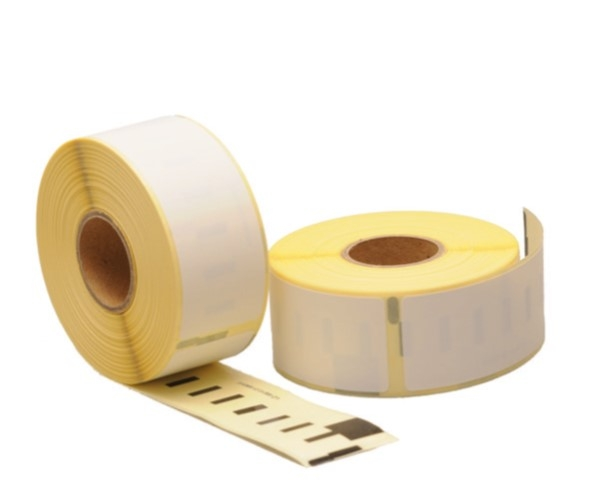 Etiket 89x28MM Dymo label compatible 99010 Wit thermo top wik 1B rol a 260