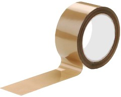 Tape PP acryl bruin 48 mm x 66 mtr low noise 28my