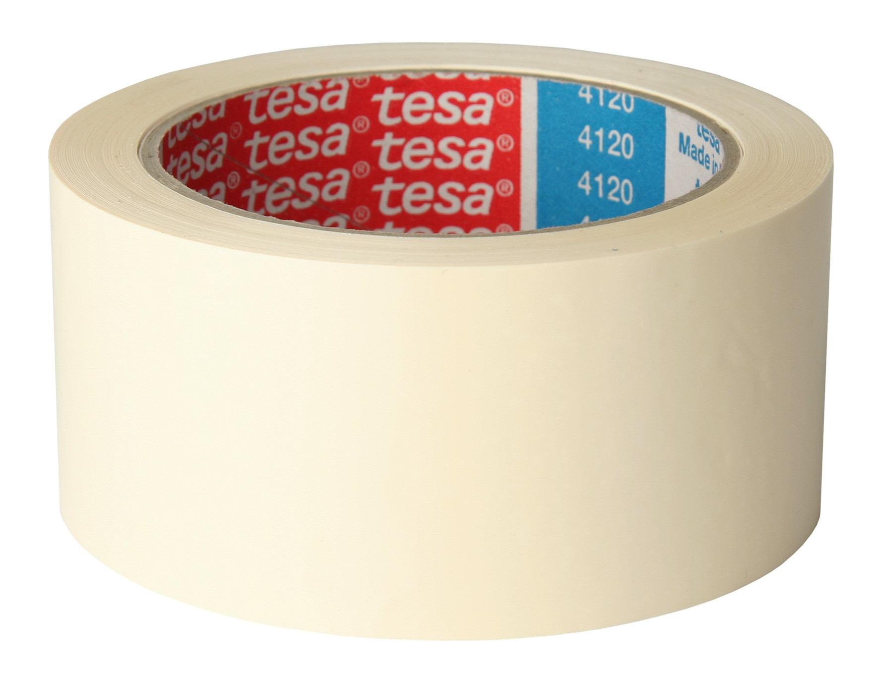 Tesa® tape pvc 4120 wit 50 mm x 66 m 49µm