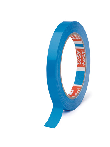 Tesa® tape pvc 4204 blauw 9 mm x 66 m