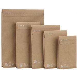 Verzendzak recycled (Do Good Bag) 250x430x80mm met dubbele plakstrip